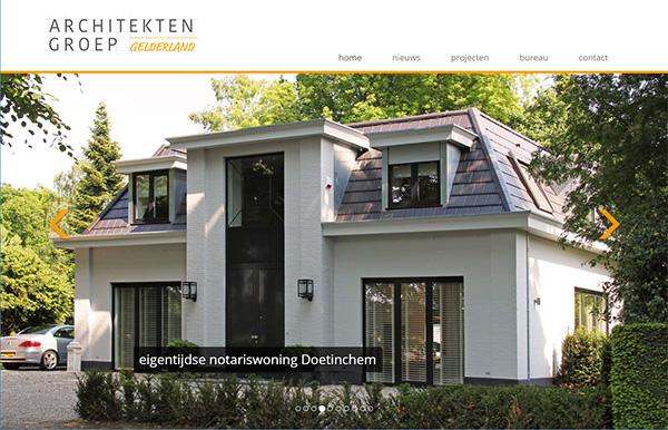 Nieuwe website Architektengroep Gelderland