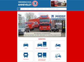 Nieuwe website Verkeersschool Anneveldt