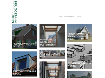 Nieuwe website Marcel Bruggeman Architect