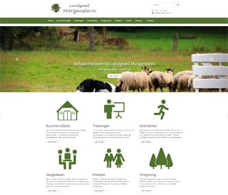 Nieuwe website Landgoed Morgenstern